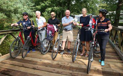 Nieuwe fietsroute Liberation Route Brabant gelanceerd