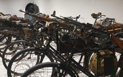 """Nieuwe expositie """"De dienstfiets van de Wehrmacht"""" in Oorlogsmuseum Overloon"""