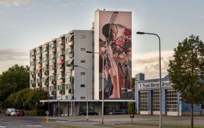 Muurschilderingen herdenken 75 jaar vrijheid