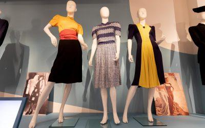 Expositie 'Mode op de bon': een nieuw modebeeld in oorlogstijd