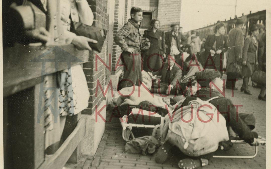 Unieke foto's van Jodentransport vanuit Kamp Vught ontdekt